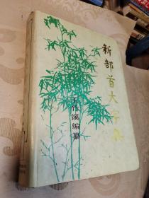 【新部首大字典】 上海翻译出版公司、电子工业出版社联合出版