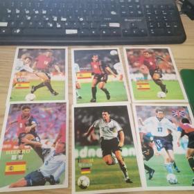 世界杯大决战八组将帅图特集之第三集珍藏集卡片(10张)