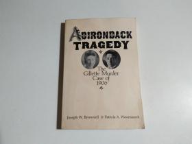 AOIRONOACK TRAGEDY(大32开 扉页有签名)书名见图