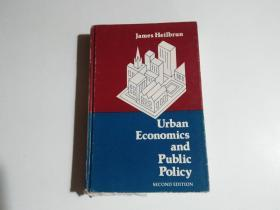 urban economics and public policy(小16开 书名见图 品相见图)