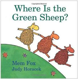 (7C)英文原版  where is the green sheep 精装