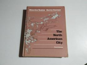 the north american city(书名见图 品相见图)