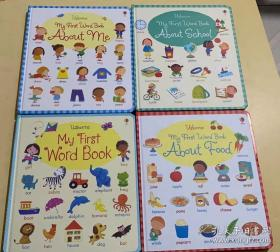 My first word book :about me,about school,about food,my first word book |四册合售