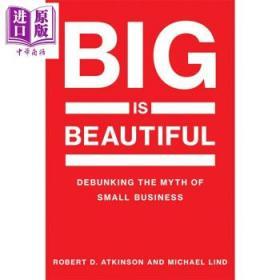 现货原版/大即是美 英文原版 Debunking the Myth of Small Bu