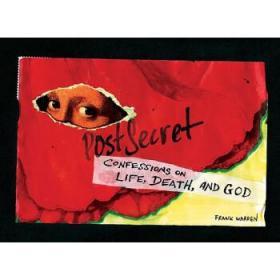 现货原版/PostSecret: Confessions on Life  Death  and God