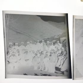 文革照片底片-李崮寨儿童背语录(底片3张)