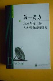 第一动力(2006年度上海人才强市战略研究)