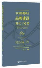 中国影视媒介品牌建设现状与趋势:基于文化产业的视角:brand buil