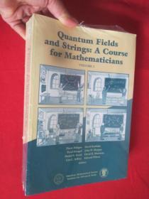 Quantum Fields and Strings: v. 2: A Course for Mathematicians    (16开) 【详见图】,全新未开封