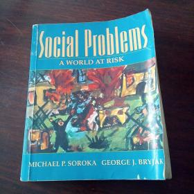 Social Problems: A World at Risk(英文原版)