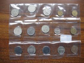 14枚 版本不一的老钱币合拍(C25号)
