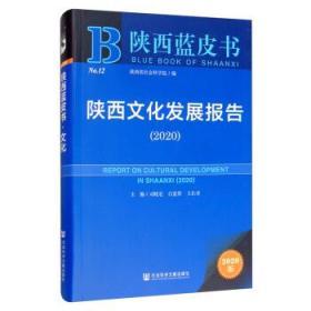 陕西文化发展报告:2020:2020 司晓宏,白宽犁,王长寿,陕西省社