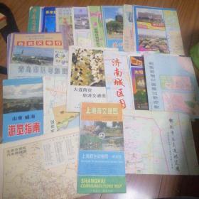旅游交通地图,