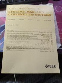 SYSTEMS,MAN,AND CYBERNETICS:SYSTEMS NOVEMBER 2020 VOLUME 50 NUMBER 11 ITSMFE