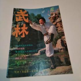 武林杂志 1991年第6期总第117期(8品16开48页目录参看书影)50641