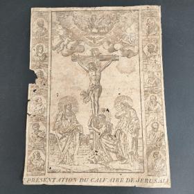 16世纪木刻版画 (宗教书扉页)