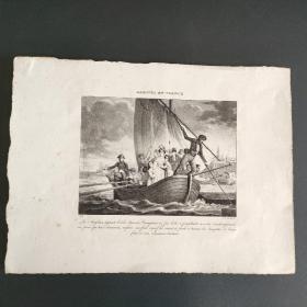 19世纪法文石印版画