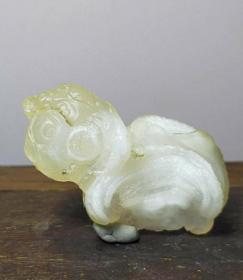 《美羊羊》 阿拉善戈壁玛瑙原石