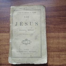 孔网唯一    外文原版书籍《耶稣  》  毛边本