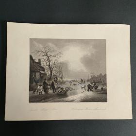 19世纪出版物插图钢版画-29