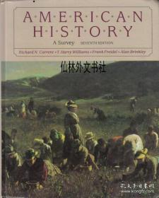 【包邮】American history: A survey