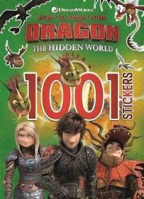How to Train Your Dragon: 1001 Stickers驯龙高手3 贴纸书,英文原版