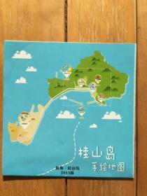 (珠海)桂山岛手绘地图
