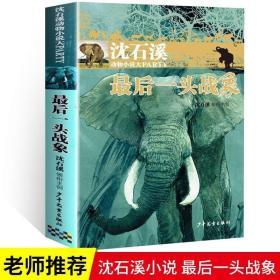 正版 学校推荐阅读 最后一头战象 沈石溪珍藏正版 动物小说大王经
