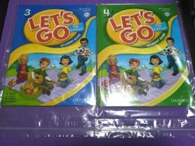 Let's Go: 3: Student Book with Audio CD Pack Let'sGo4StudentBookwithAudioCD【正版!两册同售 两册未阅 品相好 经仔细检查两册书籍均无勾画 不缺页】