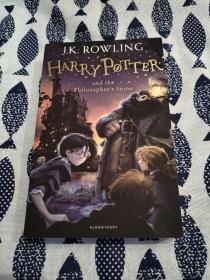 【签名本】《哈利波特与魔法石》作者J.K.罗琳、主演哈利波特、赫敏、罗恩四人共同签名(2014年英国版、平装)
