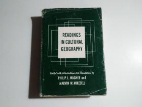 READINGS IN CULTURAL GEOGRAPHY(精装16开)品相见图