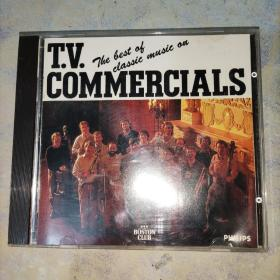 THE BEST OF CLASSIC MUSIC ON T.V.COMMERCIALS(实物图)