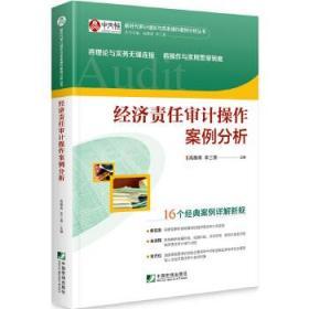 经济责任审计操作案例分析 正版 高雅青,李三喜 9787509219386 中国市场出版社