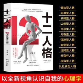 十二人格 正版 刘子墨 9787218142777 广东人民出版社