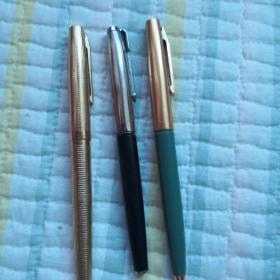 钢笔:英雄十永生十上海(均未使用过)3支合售