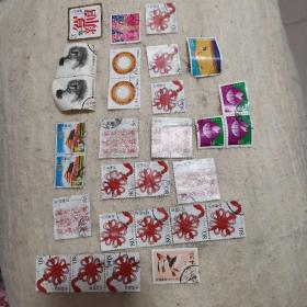 各种邮票,每张两元,量大从优