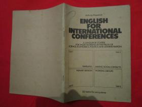 ENGLISH FOR INTERNATIONAL CONFERENCES/(国际会议英语)/ILS Institut fur Lernsysteme/ Anthony Fitzpatrick