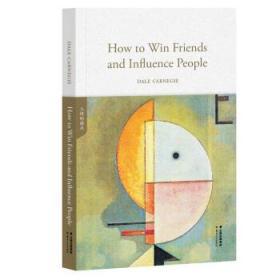 {全新正版现货} How to win friends and influence people