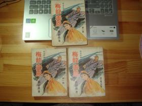 大武林武侠--《梅龙毒凤》--【3册全】