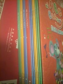 凯顿儿 童 美语 (1-4)配光盘(请注意:只是练习册第一册缺一本及第一册配套光盘   其它都有的) 共计11本书12张光盘合售!
