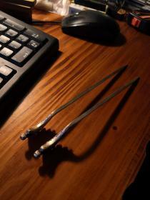 龙头银制茶针