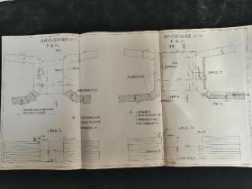 小清河勘探史料•1934年马颊河南、北进水闸图!