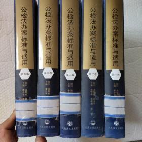 公检法办案标准与适用(全五卷)