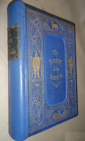 1853年Walter Scott – The Lady Of The Lake 司各特经典史诗《湖上夫人》金碧辉煌满堂烫金善本 著名画家Birket Foster与John Gilbert 插图