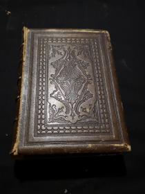 (国内现货)《尼克尔画廊人物肖像钢版画集》54幅整页带衬钢版画,精皮装进口,1850年,24*17*6厘米开本