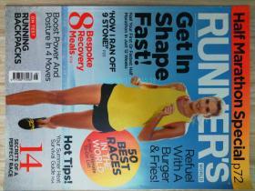 Runners World 2015/08跑步者世界体育运动健身原版时尚外文杂志
