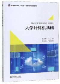 大学计算机基础 习题与上机指导杨焱林9787301296035