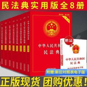 【2020年版民法典】中华人民共和国民法典实用版全8册 2020最新民