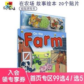 Magnetic Story and Play Scene On the Farm 认识农场动物 磁贴启蒙认知玩具游戏书 幼儿互动英语绘本 英文原版进口图书