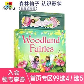 Magnetic Story And Playbook Woodland Fairies 森林的仙子 磁贴启蒙认知玩具游戏书 幼儿互动英语绘本 英文原版进口